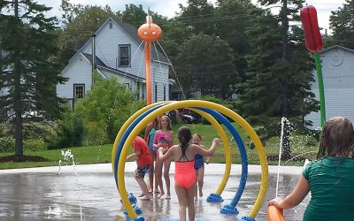 Splash Pad, Acadia Park