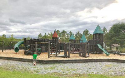 Upper Musquodoboit Wooden Playground