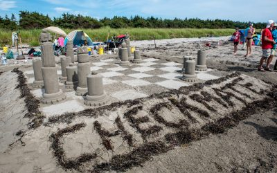 Annual Clam Harbour Sand Castle Competition